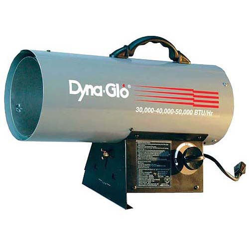 Kero World World Marketing 40,000 BTU Liquid Propane Forced Air Heater,  GFA40/FA40DLX