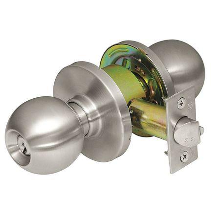 CORBIN CK4457 GWC 630 Door Knob Lockset,Round,Storeroom