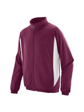 4391 Medalist Jacket - Youth MAROON/WHITE S