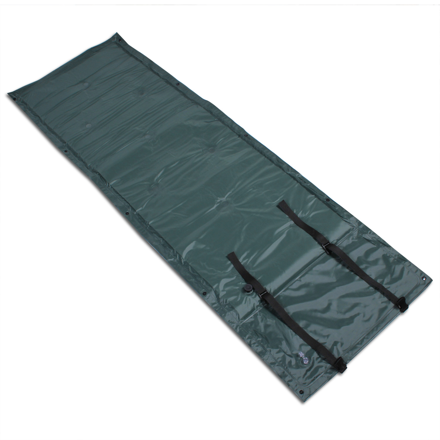 CBD PVC Waterproof Light Weight Self-Inflating for Camping Inflatable Backpacking Sleeping Pad Green 1 PCS