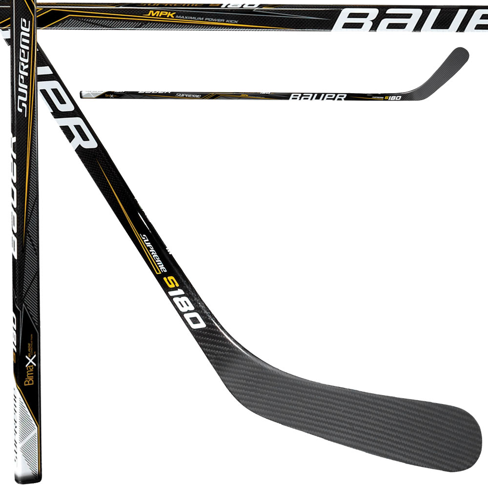 New Bauer Supreme S180 LEFT Handed Senior Hockey Stick P92 Ovechkin Grip by Bauer