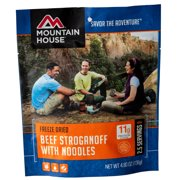 Mountain House Freeze-Dried Beef Stroganoff With Noodles - 2.5 Servings