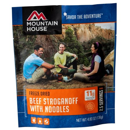 Mountain House Beef Stroganoff with Noodles](Halloween Themed Meals)
