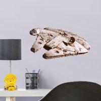 Fathead Millennium Falcon - Large Officially Licensed Star Wars Removable Wall Decal