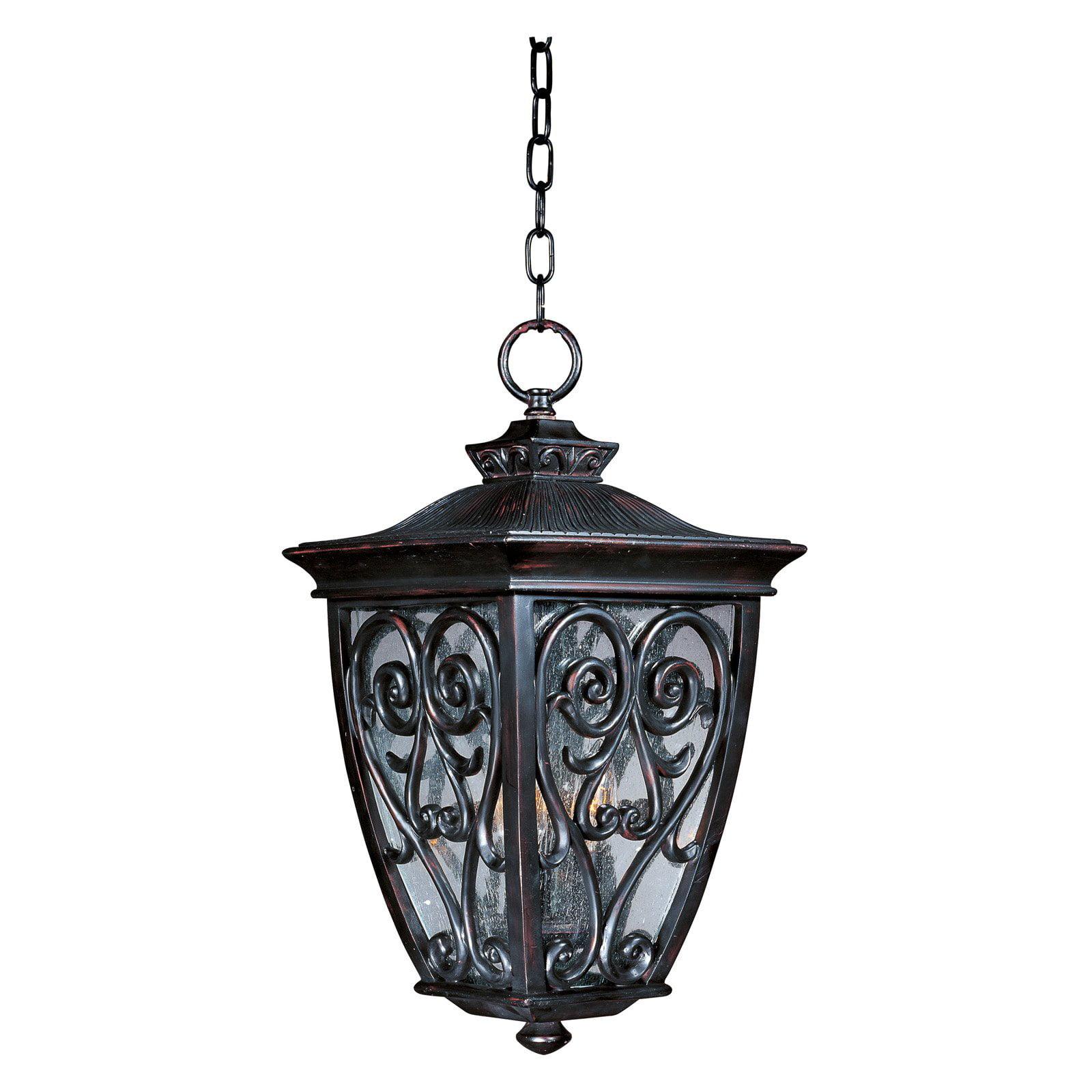 Maxim 40128CDOB Newbury VX Outdoor Hanging Lantern - 11.5W in. Oriental Bronze