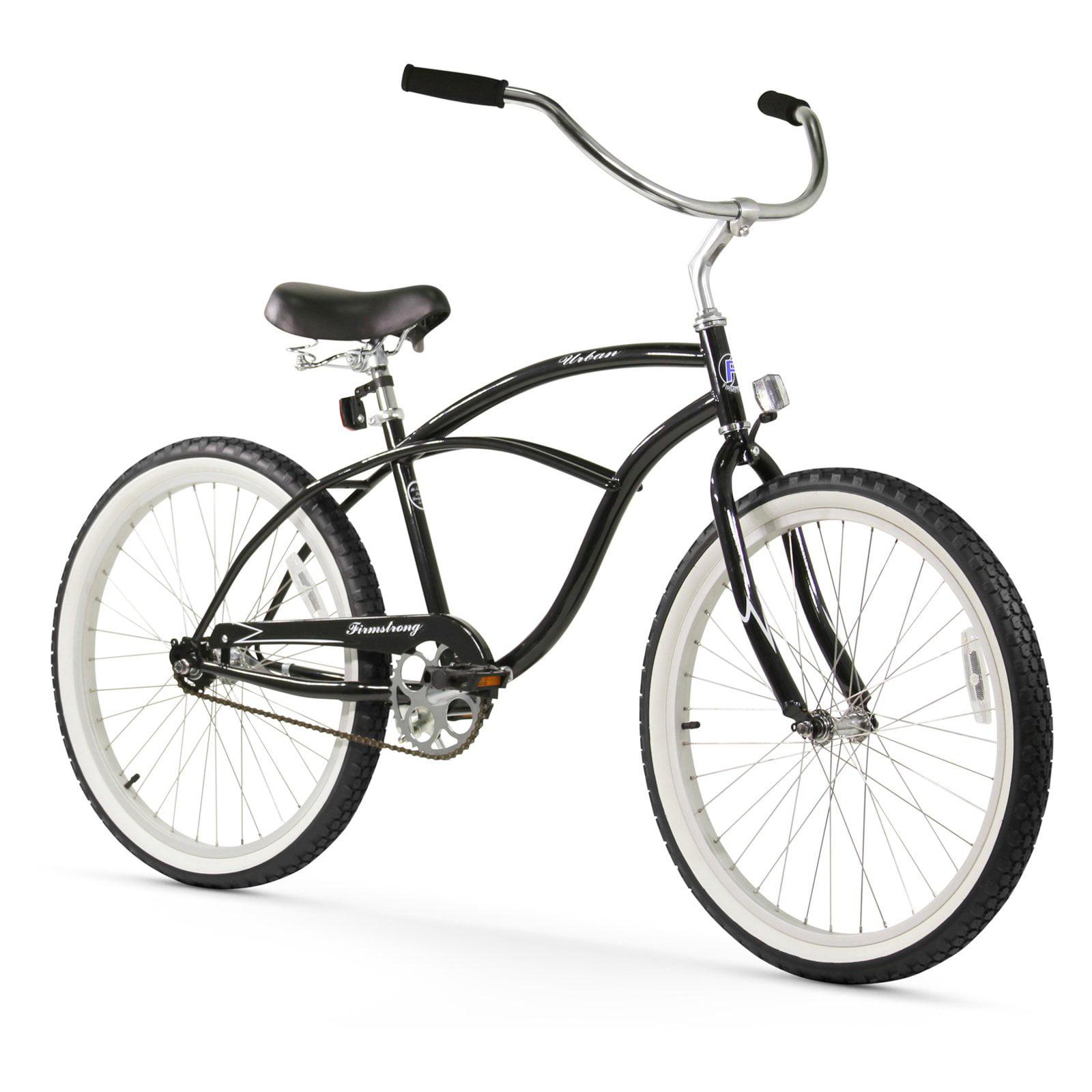 "Firmstrong 24"" Men's Urban Beach Cruiser Bicycle, 1 Speed"