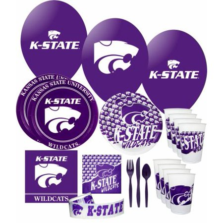Kansas State Wildcats Party Supplies Pack - Halloween Parties 2017 Kansas City