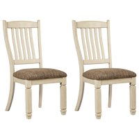 Signature Design by Ashley Bolanburg Dining Side Chair Set of 2 Two-tone