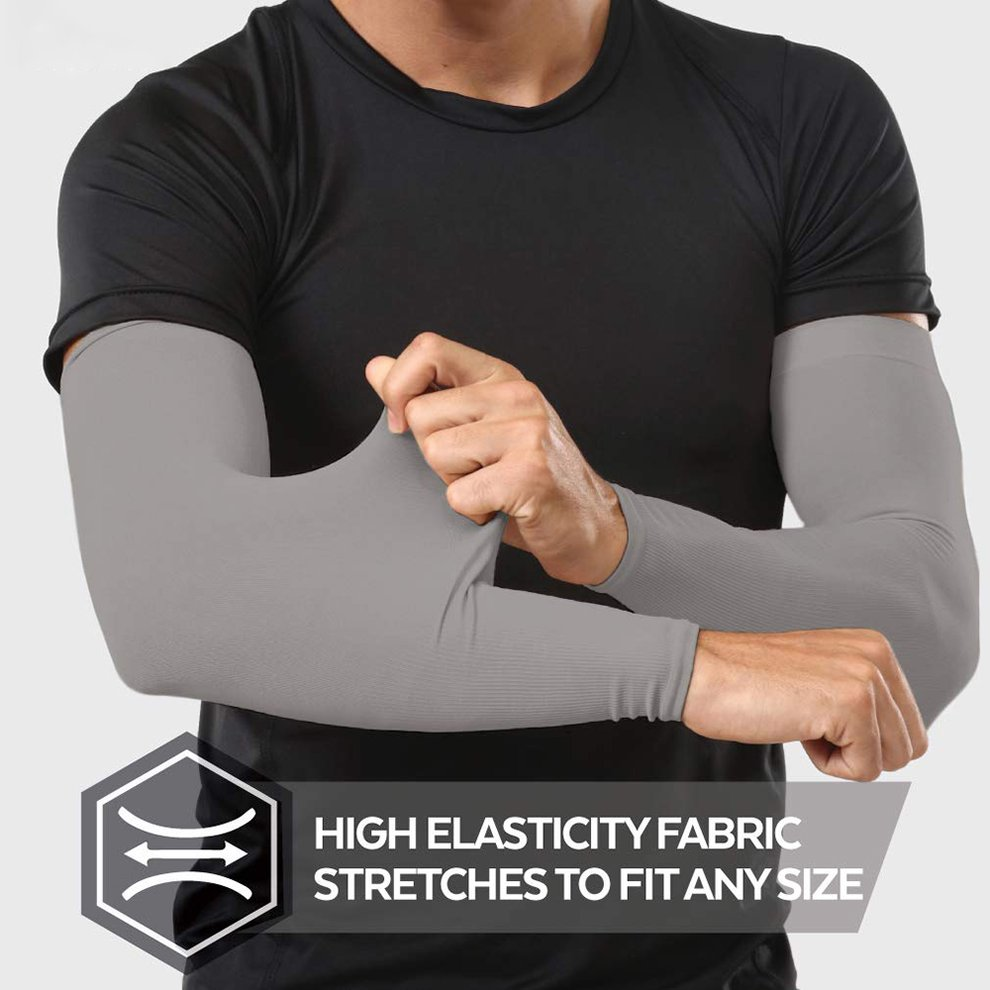 INBIKE Compression Arm Sleeves Unisex Summer Anti UV Sun Protection Arm Coolers