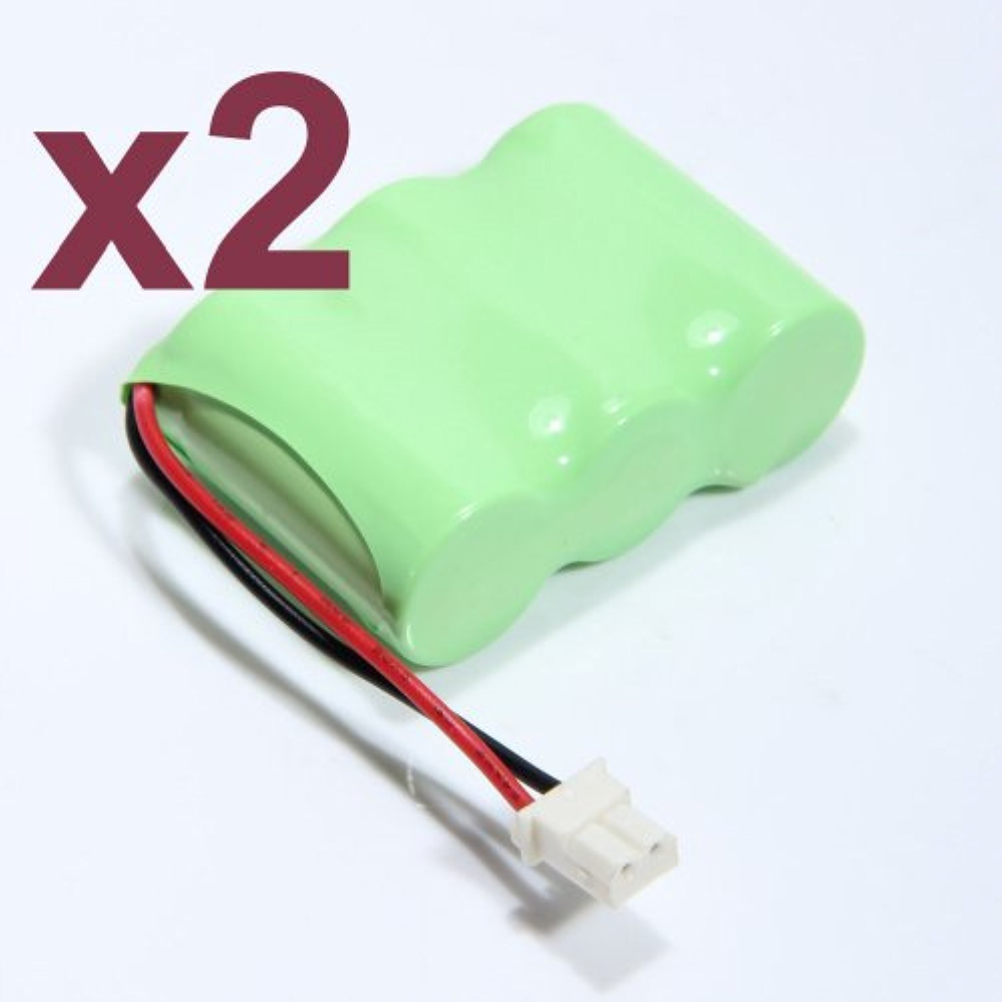 2x Cordless Phone 400mAh 3.6V Battery for Vtech BT-17333, BT-27333, CS2111, 01839
