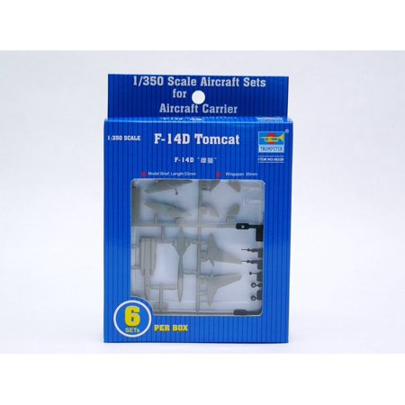 Trumpeter 6220 F-14D Tomcat Aircraft Set for 1/350 Scale Model Ships