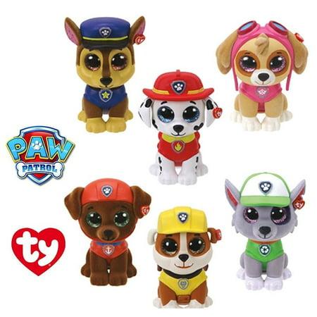 TY Beanie Boos - Mini Boos Paw Patrol Figures - BLIND BOX (1 random character)(2 inch)