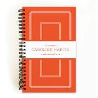 Tailored Sequence - Personalized 5 x 8 Notebook