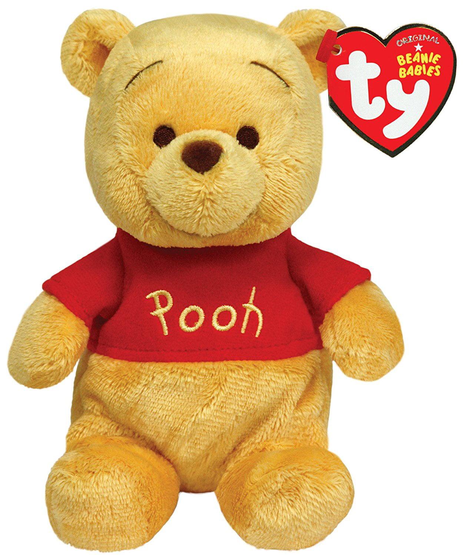 "Cp Ty Beanie Babies Winnie The Pooh 6"" plush by"