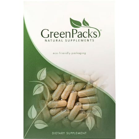 GreenPacks Stinging Nettle Root Extract (High-Potency) Supplement, 90 capsules