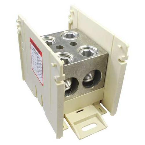 BURNDY BDBLCS6V1 Power Distribution Block,Pole 1 G3111626