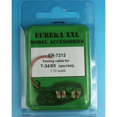 Eureka XXL 1:72 Towing Cable for T-34/85 Mod.1945 and Post-War Variants #ER-7212