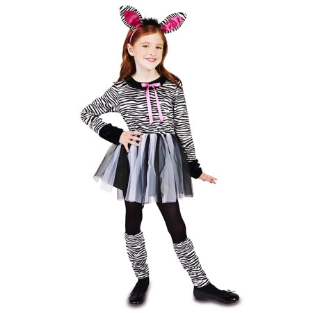 Zebra Girl Child Costume](Tween Zebra Costume)