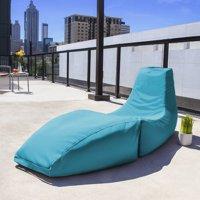 Jaxx Prado Outdoor Bean Bag Chaise Lounge Chair