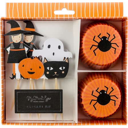 Halloween Cupcake Kit Makes 24- (Halloween Cupcakes Delivery)