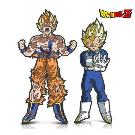 Warp Gadgets Bundle - Figpin - Dragon Ball Z Super Saiyan Goku and Super Saiyan Vegeta (2