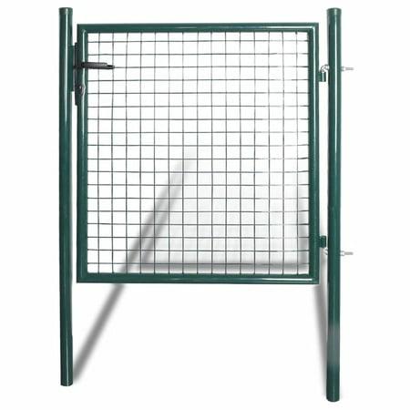 Yosoo Single Door Fence Gate Powder-Coated Steel