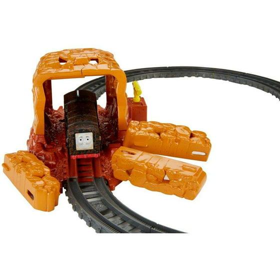 c820690bead Thomas & Friends TrackMaster Tunnel Explosion Starter Set - Walmart.com