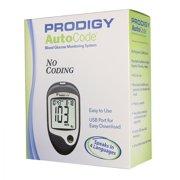 AutoCode Talking Blood Glucose Monitoring System No Coding, 450 Test Memory
