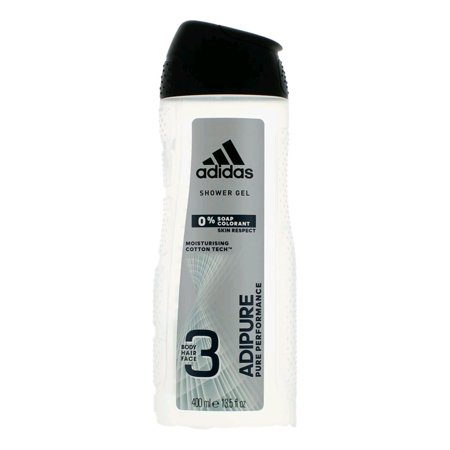Adidas Adipure by Adidas, 13.5 oz 3 in 1 Shower Gel for Men
