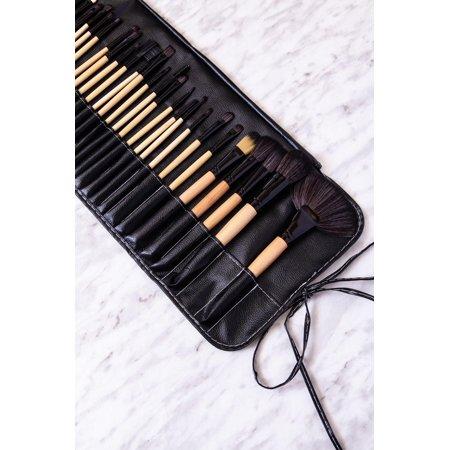 ZOE AYLA 12 Piece Professional Make-Up Brush Set with Travel Case - image 1 of 7