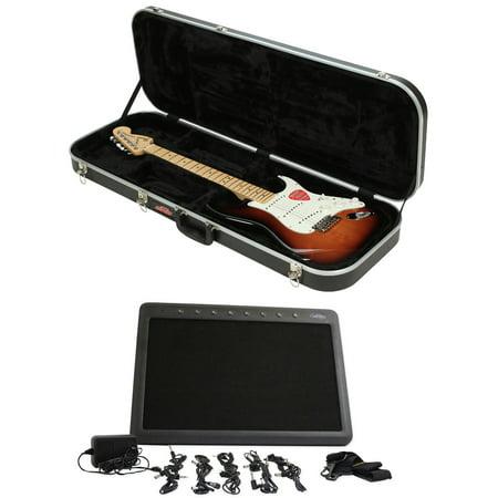 dbb84912d6e SKB 1SKB-6 Electric Hard-Shell Guitar Rectangular Case + PedalBoard + Hard  Case - Walmart.com