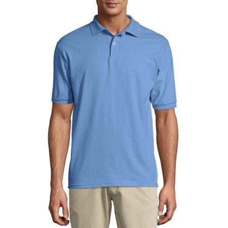 5c437947793 Men's EcoSmart Short Sleeve Jersey Golf Shirt - Walmart.com