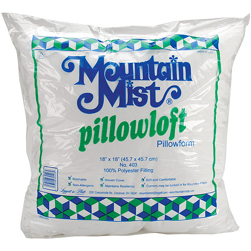 Mountain Mist Designers Choice Pillowforms, 14-inch-by-14-inch Multi-Colored
