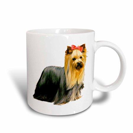 3dRose Yorkshire Terrier, Ceramic Mug, 11-ounce