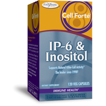Enzymatic Therapy Cell Forte IP-6 & Inositol 120 Vegetarian Capsules ()