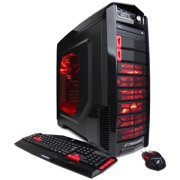 CyberPowerPC Black/Red Gamer Xtreme GXi770 Desktop PC with Intel Core i5-6600K Quad-Core Processor, 8GB Memory, 1TB Hard Drive and Windows 10 Home (Monitor Not Included)