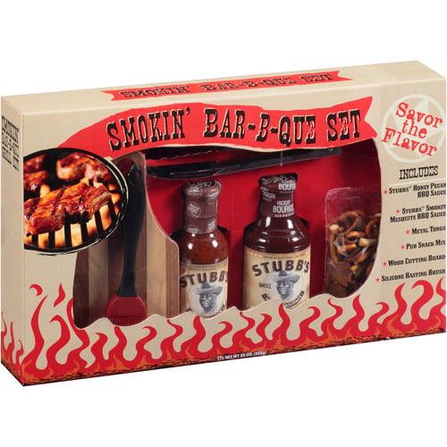 Designpac Gifts Stubbs Smokin Bbq Set Walmart Com