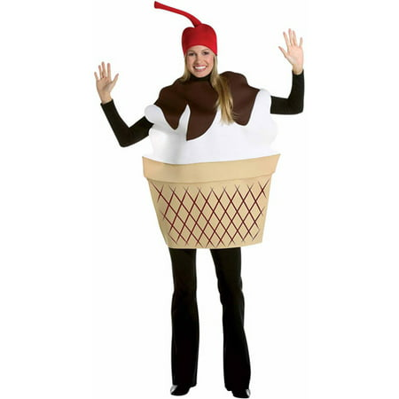 ICE CREAM SUNDAE COSTUME - Ice Cream Sandwich Halloween Costume