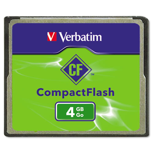 Verbatim 95188 4 GB CompactFlash Card