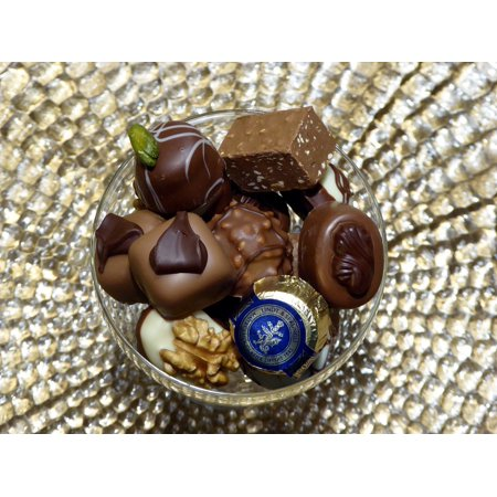 Canvas Print Nibble Chocolates Candy Brand Sweet Stretched Canvas 10 x 14