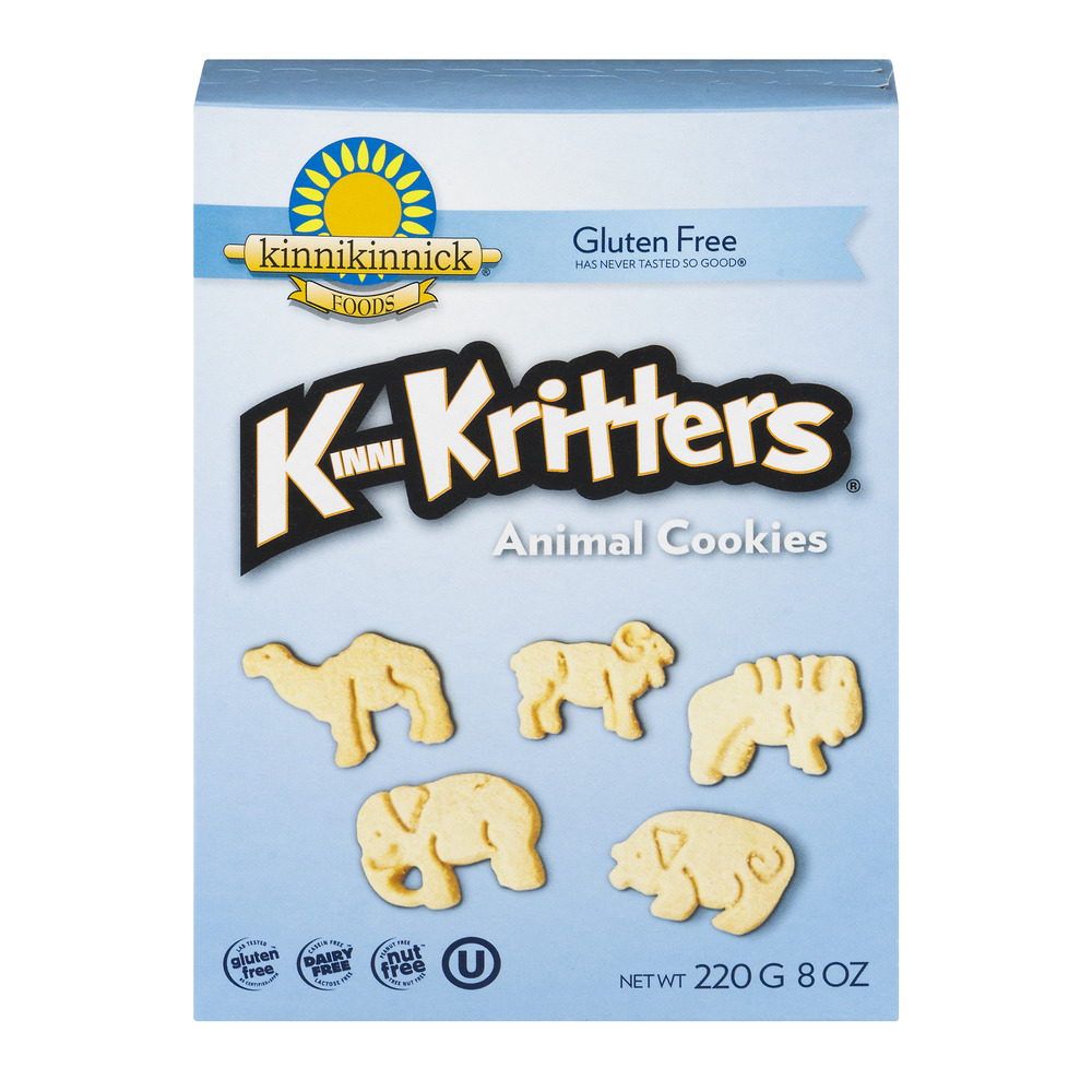 KinniKritters Animal Cookies, 8.0 OZ
