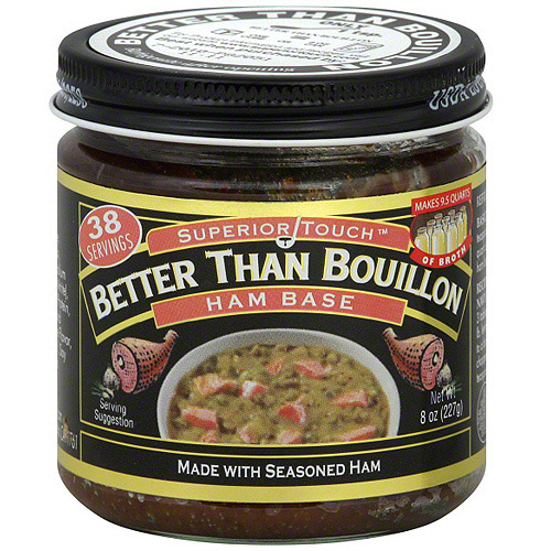Superior Touch Better Than Bouillon Ham Base Bouillon, 8 oz (Pack of 6)