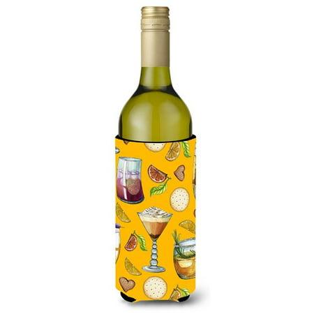 Drinks & Cocktails Gold Wine Bottle Beverge Insulator Hugger - image 1 de 1