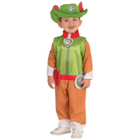 PAW Patrol : Tracker Child Costume (Rocky Paw Patrol Halloween Costume)