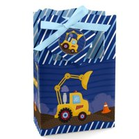 Construction Truck - Baby Shower or Birthday Party Favor Boxes (set of 12)