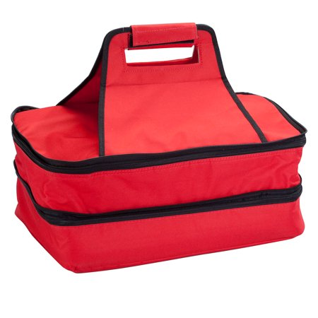 Food Tote (Double Decker Insulated Food Travel Tote )