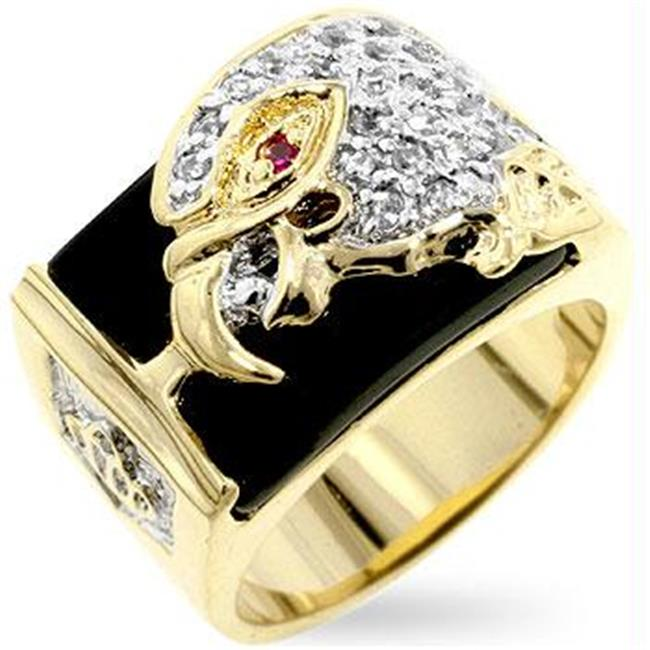 CZ Eagle Mens Ring, Size : 14