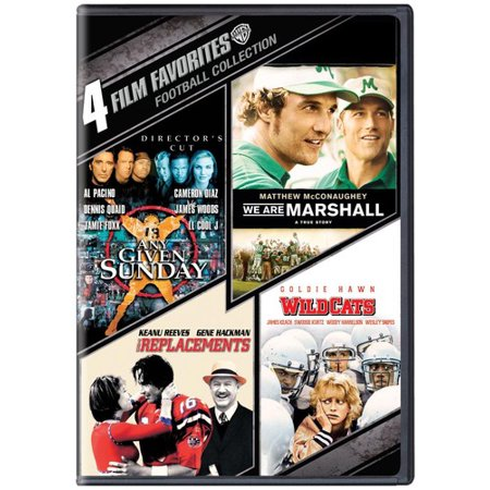 4 Film Favorites  Football Collection