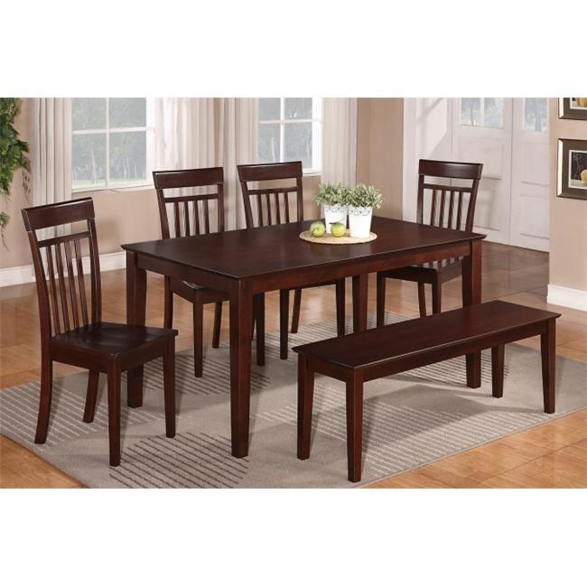 7 Piece Dining Table Set For 6- Dining Room Table and 6 Dining Chairs