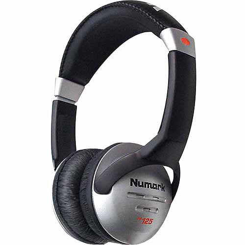 Numark Closed-Backed Headphones 40mm Speakers by Numark